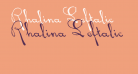 Rhalina Leftalic