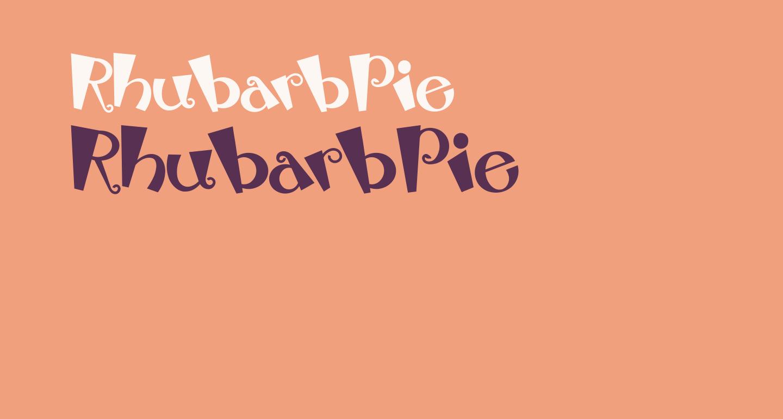 RhubarbPie