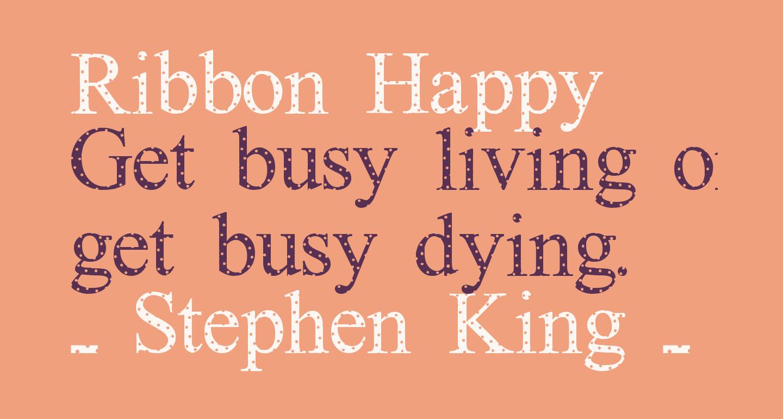 Ribbon Happy