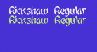 Rickshaw Regular