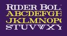 Rider Bold
