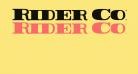Rider Condensed ExtraBlack
