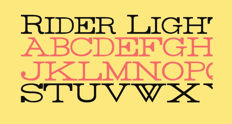 Rider Light