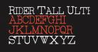Rider Tall Ultra-condensed Light