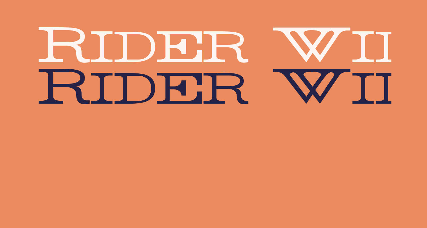 Rider Wide Expanded Light