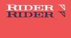 Rider Widest Ultra-expanded Bold