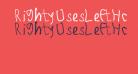 RightyUsesLeftHand