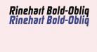 Rinehart Bold-Oblique