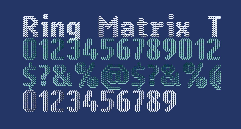 Ring Matrix Two