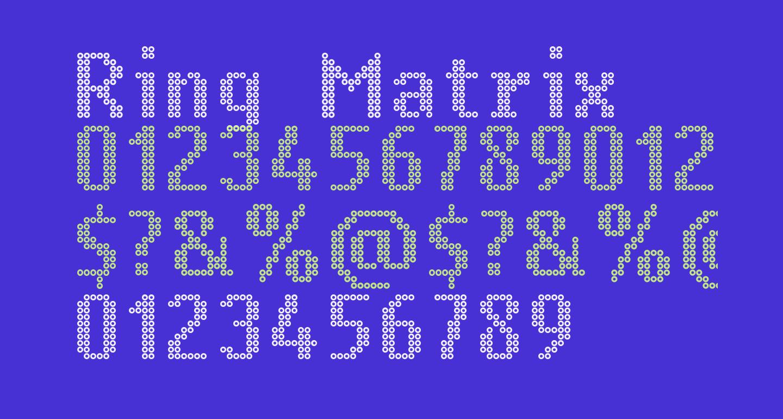 Ring Matrix