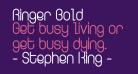 Ringer Bold