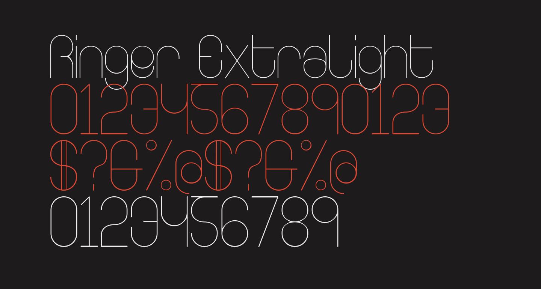 Ringer ExtraLight