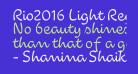 Rio2016 Light Regular