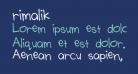 rimalik