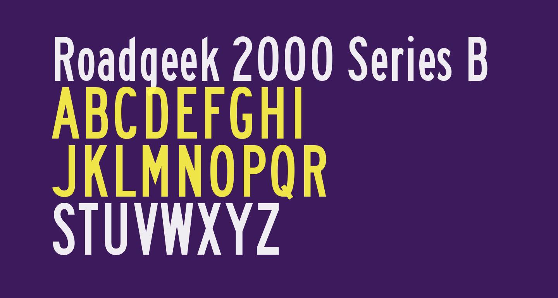 Roadgeek 2000 Series B