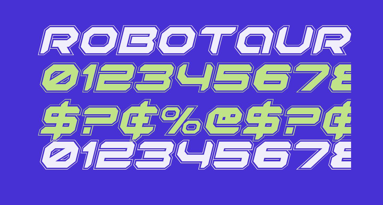 Robotaur Academy Italic