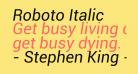 Roboto Italic