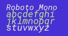 Roboto Mono Italic