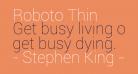 Roboto Thin