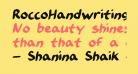 RoccoHandwriting