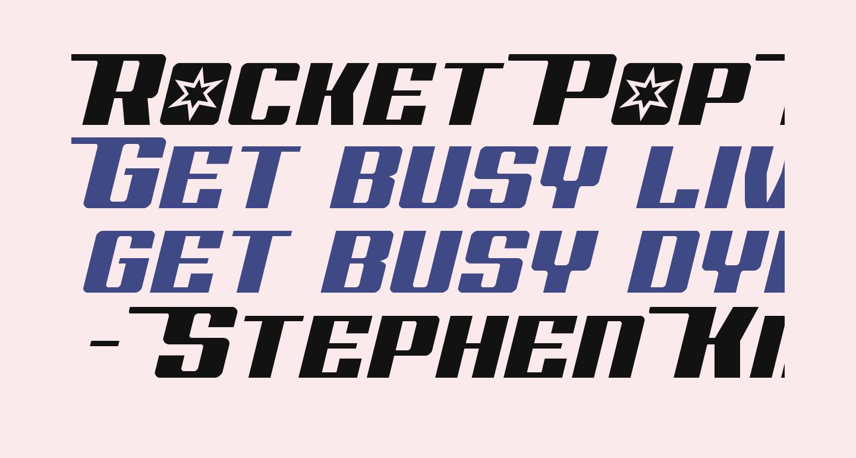 Rocket Pop Half-Italic