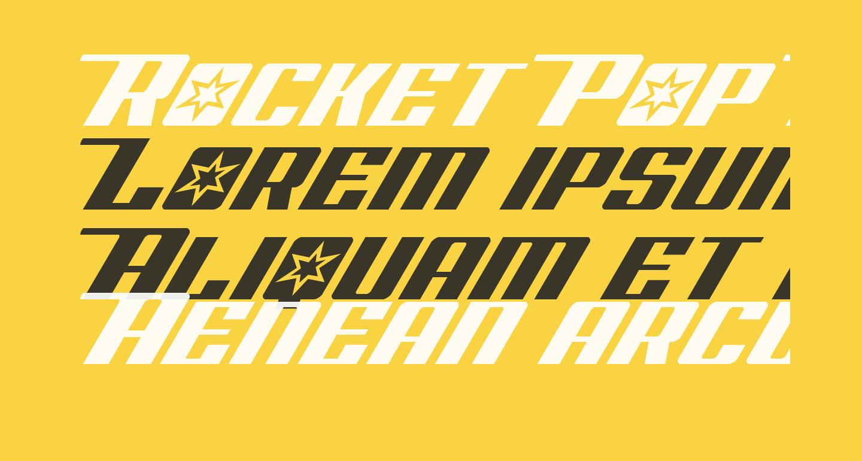 Rocket Pop Italic Italic