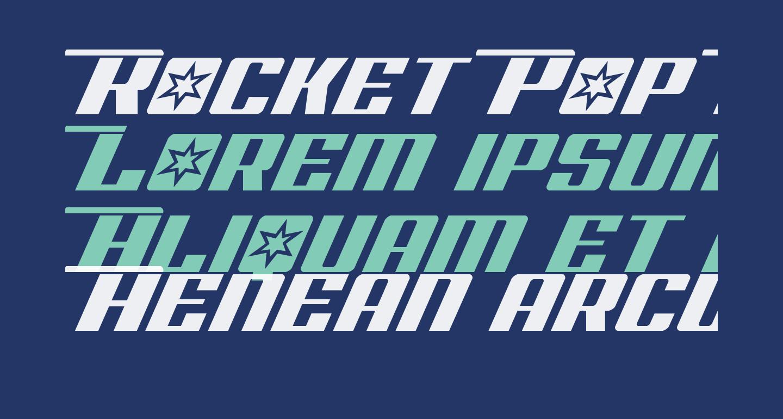 Rocket Pop Laser