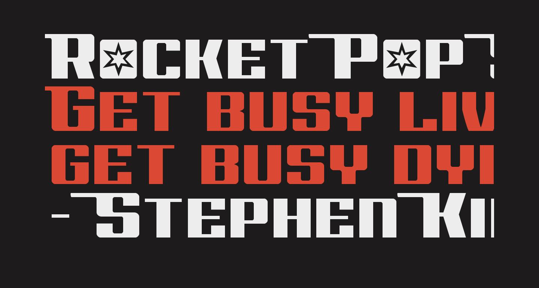 Rocket Pop Straight