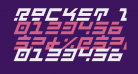 Rocket Type Bold Italic
