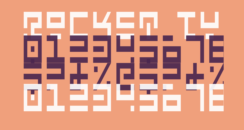 Rocket Type Condensed