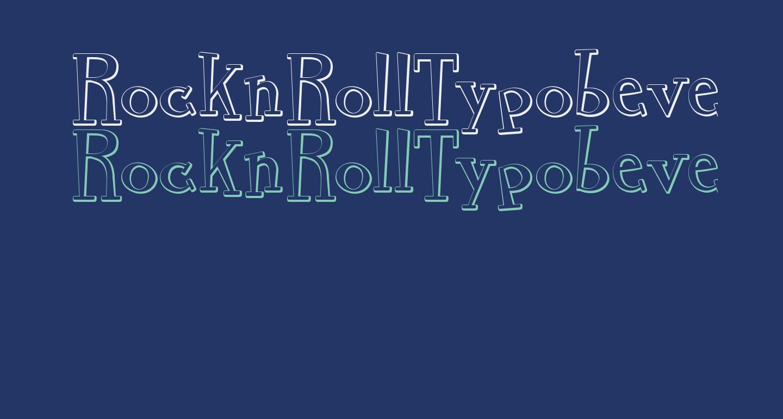 RocknRollTypobevel