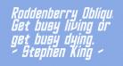 Roddenberry Oblique