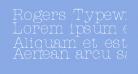 Rogers Typewriter