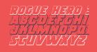 Rogue Hero 3D Italic