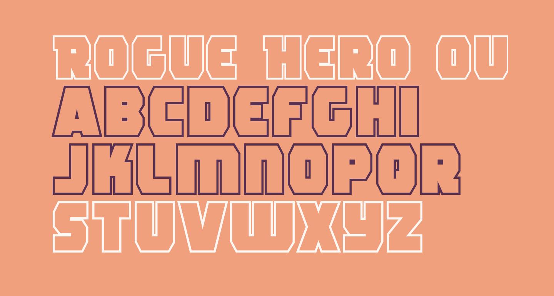 Rogue Hero Outline