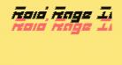 Roid Rage Italic