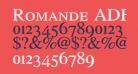 Romande ADF Style Std Demi Bold