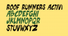 Roof runners active Italic