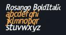 Rosango BoldItalic