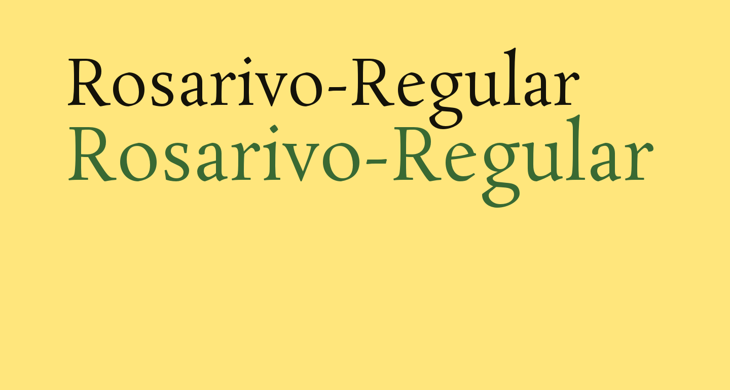 Rosarivo-Regular