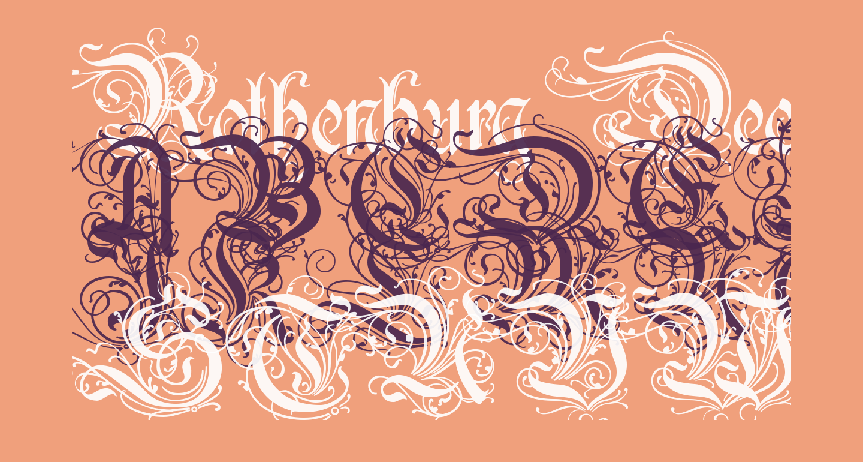 Rothenburg Decorative