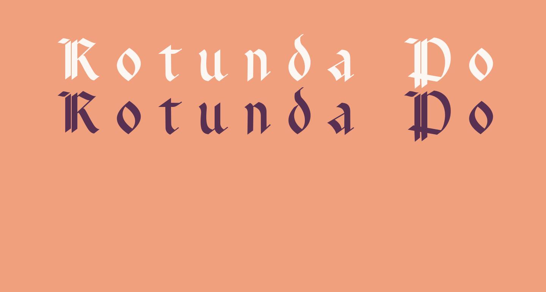 Rotunda Pommerania UNZ1A Italic