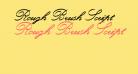 Rough Brush Script