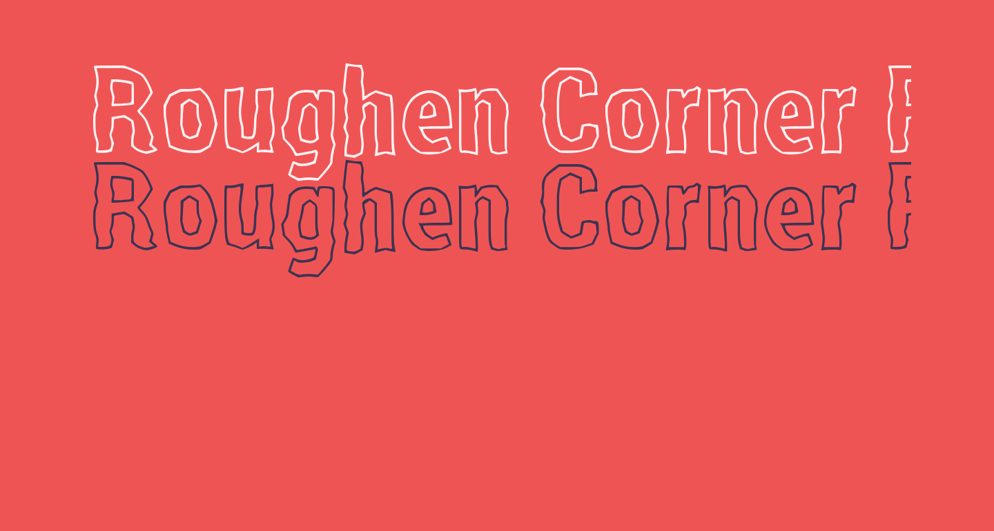 Roughen Corner Regular