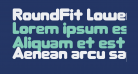 RoundFit Lowercase Extended