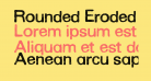 Rounded Eroded