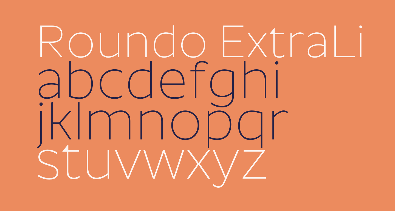Roundo ExtraLight