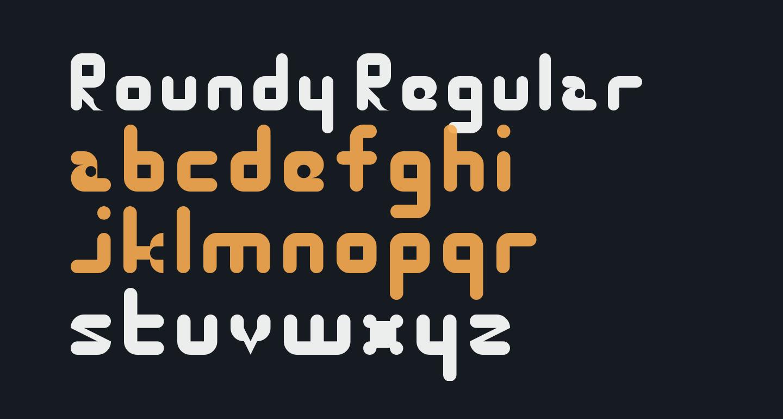 Roundy Regular
