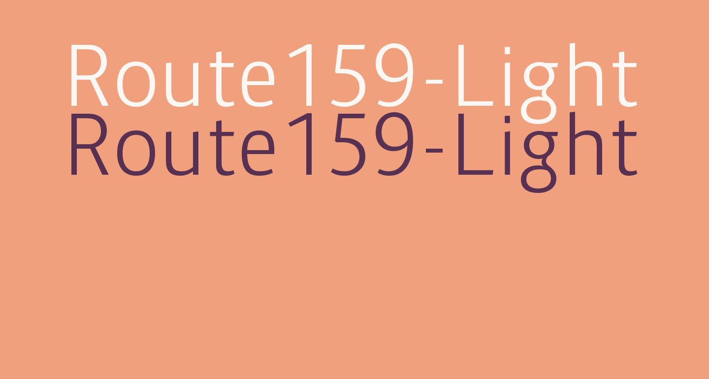 Route159-Light