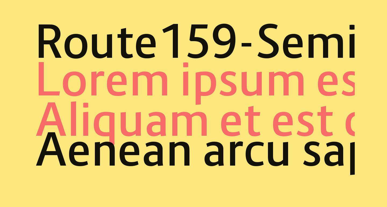 Route159-SemiBold